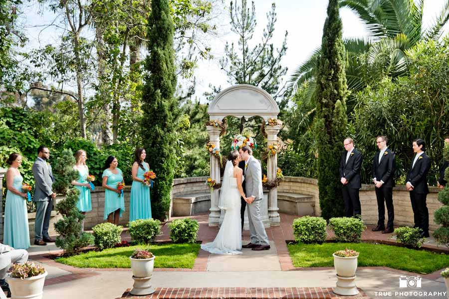 Turquoise Coral Wedding at The Prado