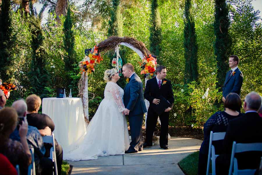 Fall Wedding at Carlton Oaks Golf Course